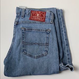Mid Rise Flare Lucky Brand Jeans Sz 6 Light Wash